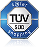 TÜV safer shopping Siegel