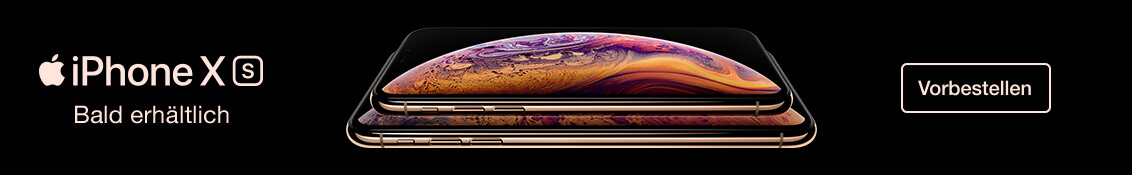 iPhone Xs vorbestellen