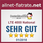 allnet-flatrate.net  - LTE 4000 National sehr gut