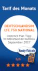 Handy Internet Flat des Monats September 2017 auf handy-flatrate-24.de